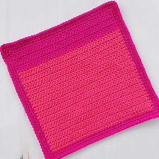 Block #1: Herringbone Half Double Crochet