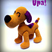 Loula the Dog - Loula la Perrita pattern