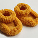 2296 Baby Booties pattern