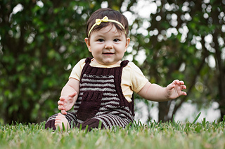 Bambino Romper with elongated front pocket and dorset inspired buttons
