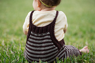 Back view of Bambino Romper.