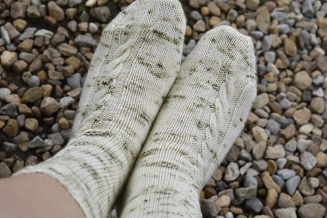 Grizedale socks by Victoria Magnus