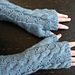 Hermione Hearts Ron fingerless gloves pattern