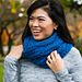 Blue Quartz Cowl pattern