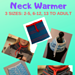 Easy Knitted Neck Warmer pattern