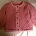 Little Miss Olivia Cardie pattern