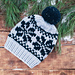 Cute Snowflake super bulky hat pattern