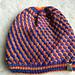 Checkerwork DK Slouchy Hat pattern