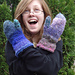 Double Cuff Mittens pattern