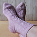 Seed Head socks pattern