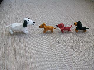 LucyRavenscar - Crochet Creatures: Mini Pets - Tiny Cat and Dog ... | 240x320