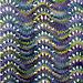 Wavy lace scarf pattern