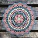 July Mandala pattern