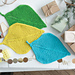#04 Leafy Dishcloths pattern