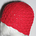Shell Stitch Chemo Cap pattern