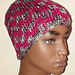 Two-Color Post Stitch Hat pattern