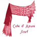 Cote d'Azure Scarf pattern