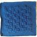 """August 2013 Crochet-A-Long 12"""" block: Basketweave pattern"""