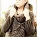 Huntress Cowl Cross-Body Vest pattern