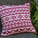 Lovebirds Cushion pattern