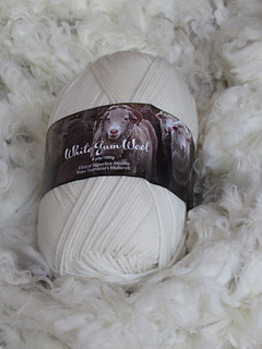 WGW 8 ply Natural 100g