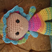 Medium Big Head baby pattern