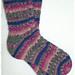 Dreaming Of Spring Toe-Up Socks pattern