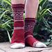 Easy Colourwork Socks pattern