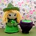 Little Witch & Cauldron pattern