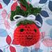 Holly Berry Amigurumi Ornament pattern