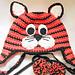 Tiger Cat Earflap Hat pattern