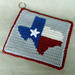 Texas Decorative Potholder pattern