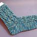 Aquarius-Socken pattern
