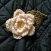 Yorkshire White Rose Corsage pattern