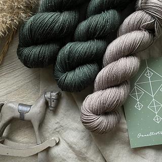 Sock wool with glitter Nuupas