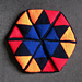 Hexaflexagon Cushion pattern