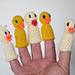 Finger Ducks pattern