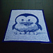 Baby Tux Illusion Blanket pattern