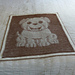 Puppy Illusion Baby Blanket pattern