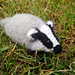Broc the Woolly Badger pattern