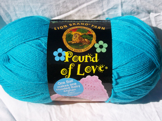 LION BRAND...POUND OF LOVE ...3 COLORS TO CHOOSE FROM