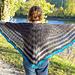 Fade to Blue Faroese Shawl pattern
