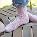Else's Estonian Lace Socks pattern