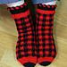 Happiness Plaid Socks pattern