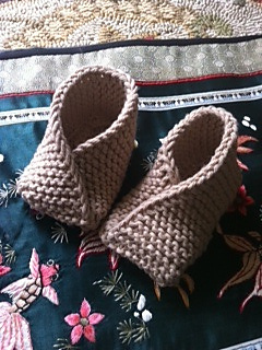 Fortune Cookie Baby Shoes pattern