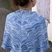 Ocean Waves Shawl pattern