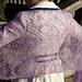 Rosebud Shawl pattern