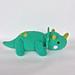 Dinosaur Triceratops George pattern