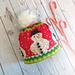 Mr Frosty Snowman Hat pattern