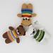 Rainbow Teddy pattern